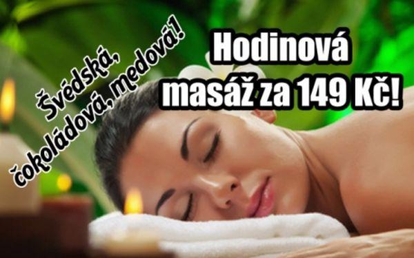 149 Kč za 60 min. MASÁŽ: švédskou, čokoládovou nebo medovou!!! Úžasná relaxace pod rukama profesionálů ze studia Perfect Body na Praze 4!!!