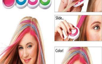 Křídy na obarvení vlasů - 4 ks a poštovné ZDARMA! - 36504929