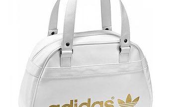 Dámská bílá taška se zlatým nápisem AC Bow Bag