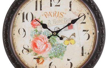 Hodiny Paris, 28 cm - francouzský Provence styl
