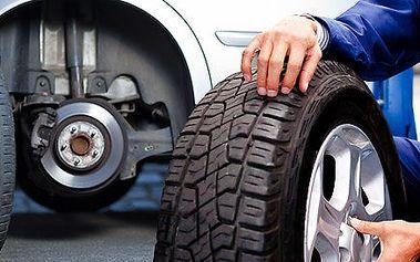 Kompletné zimné prezutie pneumatík aj s vyvážením
