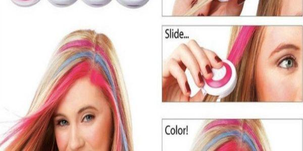 Křídy na obarvení vlasů - 4 ks a poštovné ZDARMA! - 29504929