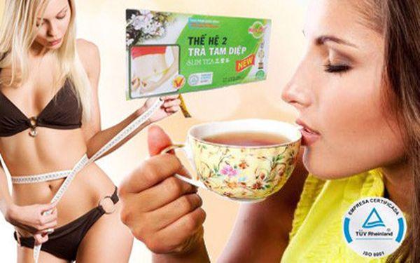 Čaj na hubnutí SLIM TEA včetně poštovného