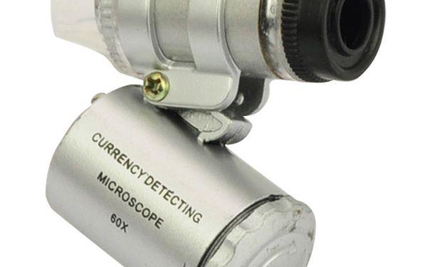 Kapesní mikroskop s LED osvětlením a poštovné ZDARMA! - 30203600