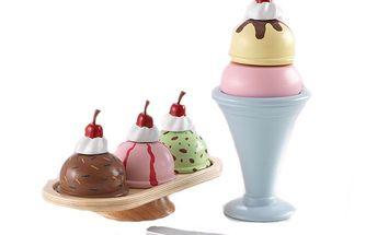 Set na zmrzlinový pohár