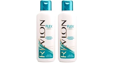 2x keratinový šampóny Revlon Flex