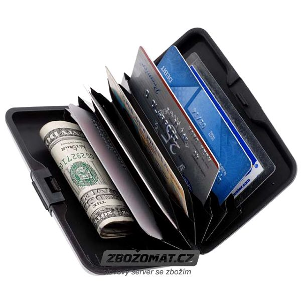 Voděodolná peněženka pro Vaše peníze i karty!