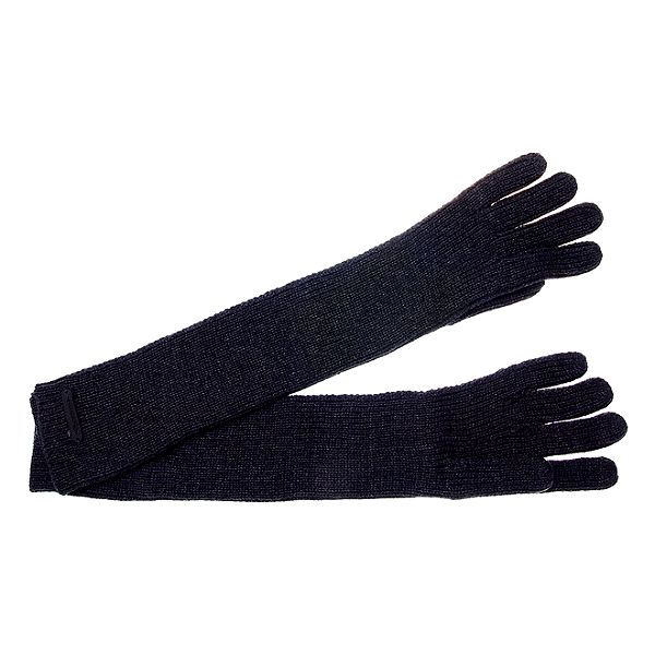 Dámské tmavě šedé dlouhé rukavice Pietro Filipi