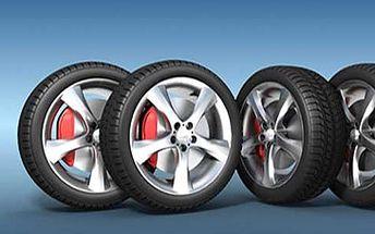 Skvělých 275 Kč za výměnu letních kol za zimní, vyvážení pneumatik a dohuštění na Vašem voze