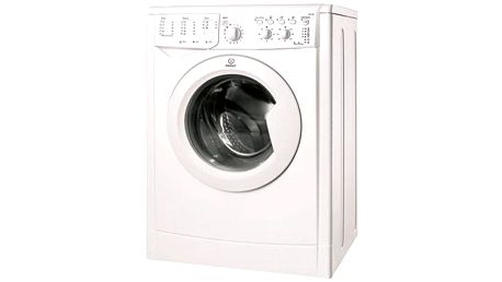 Práčka Indesit – Energetická trieda: A+, vyperie 6 kg prádla, funkcie EcoTime, Energy Saver