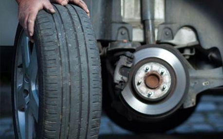 399 Kč za kompletní přezutí a vyvážení pneumatik na Vašem voze + 5% sleva na nákup pneu.