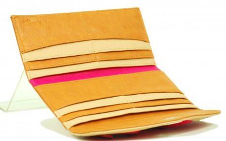 Růžovo-oranžová peněženka - styl, kvalita a funkčnost od značky Missco Girl