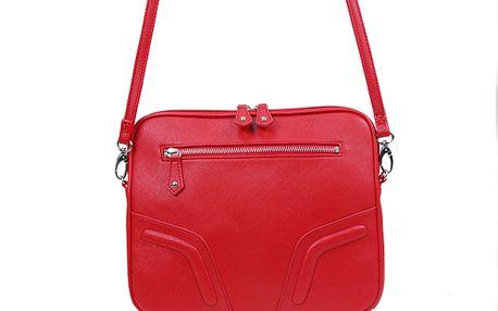 Červená kabelka se zipem - styl, kvalita a funkčnost od značky Missco Girl