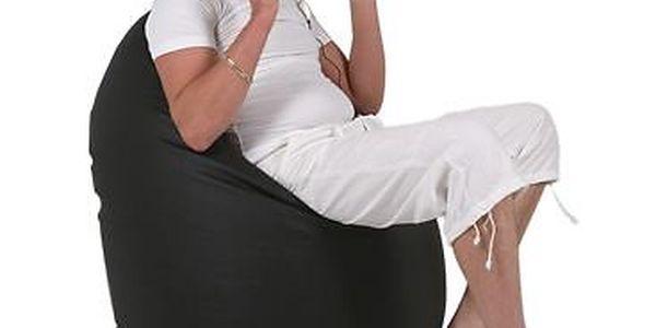 Komfortní sedací vak Relax z eko kůže