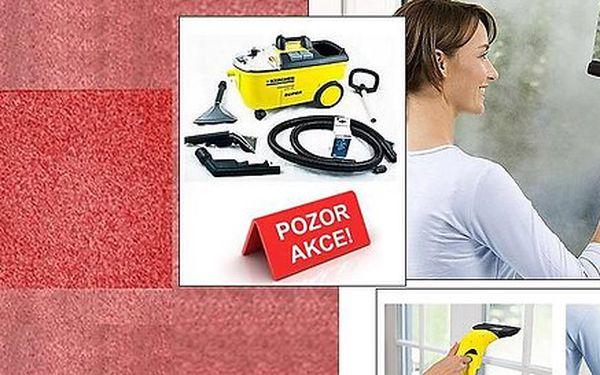 Balíček pro Váš čistý domov - hloubkové čištění koberců a mytí oken