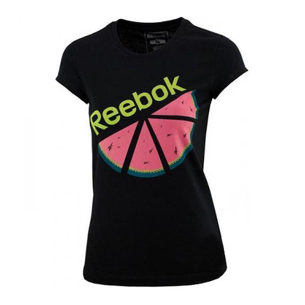 Bavlněné černé tričko Melon
