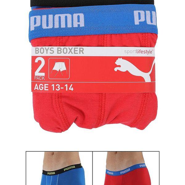 Stylové chlapecké boxerky od značky Puma/2ks v balení