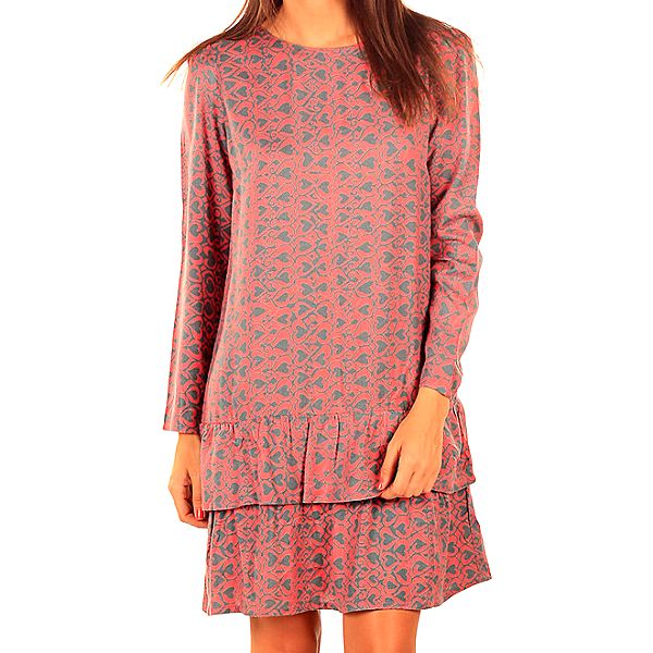 Dámské růžové charlestonové šaty Tonala