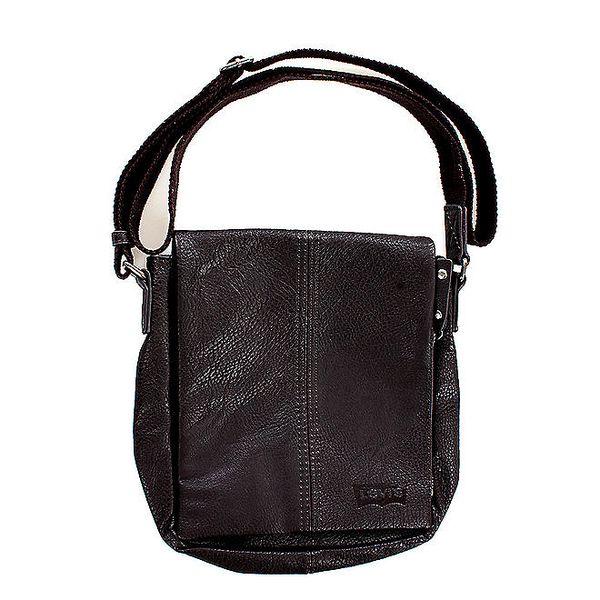 Unisex hnědá kabelka přes rameno Levis