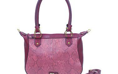 Tmavě červená kabelka - styl, kvalita a funkčnost od značky Missco Girl
