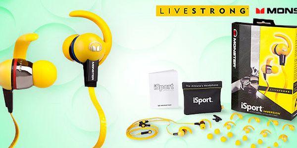 Sportovní unisex sluchátka Monster iSport