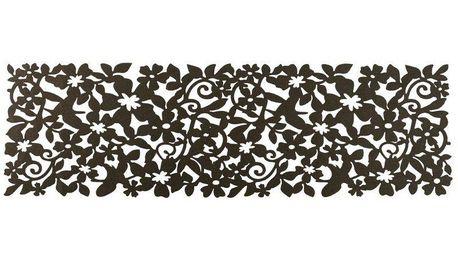 Plstěný ubrusový běhoun Ambition, 100 x 30 cm, Zeko trade, hnědá