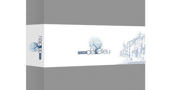 Prostěradlo Home de Blue 160x200 cm, grey