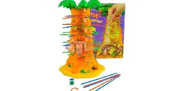 Rodinná hra padající opičky je skvělá zručnostní hra, která Vás i vaše ratolesti zabaví na dlouhé hodiny.
