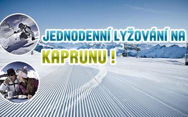 840 Kč za jednodenní lyžařský zájezd na ledovec Kaprun, Kitzbühelské Alpy, Rakousko termín 16.11.2013