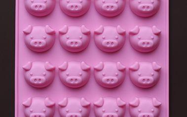Forma na led/čokoládové pralinky ve tvaru prasátek a poštovné ZDARMA! - 30804522