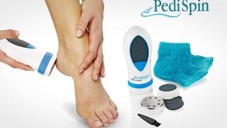 Odstraňovač suchej kože Pedi Spin - bezpečná a pohodlná starostlivosť o vaše chodidlá