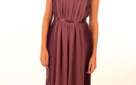 Dámské fialové vílí šaty Privee