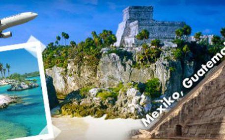 Exkluzivní 20denní cesta po stopách mayské civilizace: Mexiko, Guatemala, Belize
