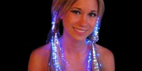 Svítící proužky do vlasů v barvě duhy a poštovné ZDARMA! - 35805319