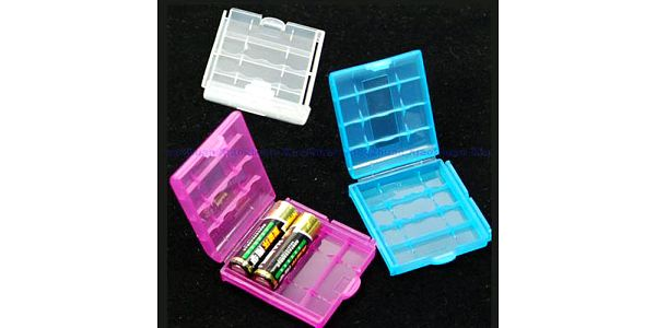 Krabička na 4 kusy AA/AAA baterií a poštovné ZDARMA! - 30402016