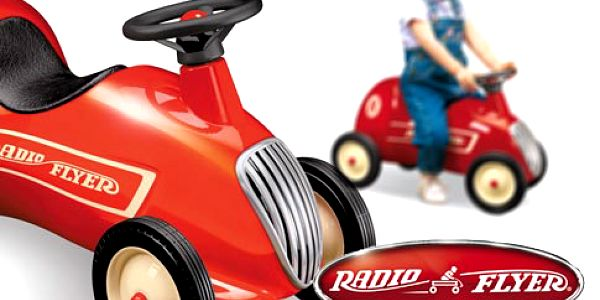 Dětské odrážedlo Little Red Roadster