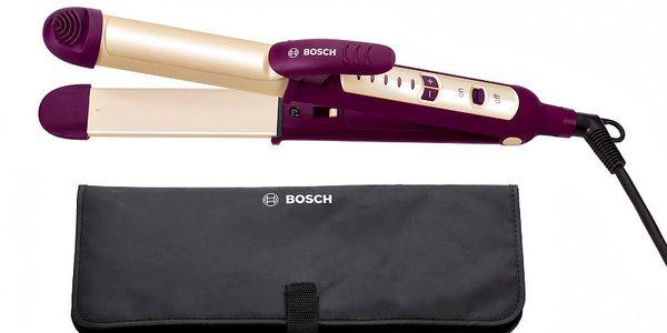 Žehlička na vlasy Bosch PHC 2520 s měkkým a příjemným povrchem