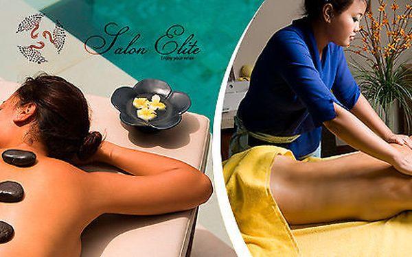 90 minut pohody s masáží a lázní nohou v salonu Elite