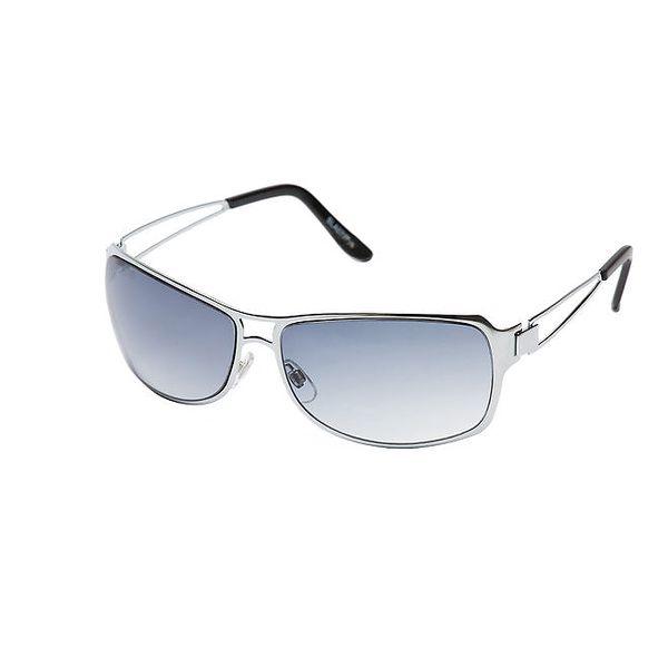 Unisexové stříbrné brýle s šedými čočkami Lancaster