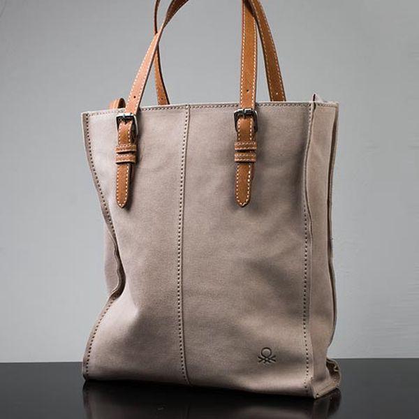 Béžová kabelka Lia