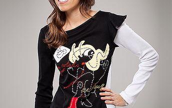 Bavlněné tričko s dlouhým rukávem (Avispada)