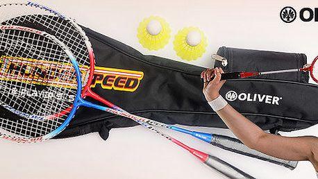 Badmintonový set značky Oliver pro dva