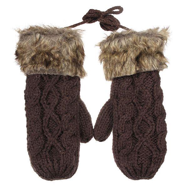 Dámské rukavice v 6 barvách s kožíškem a poštovné ZDARMA! - 30405570