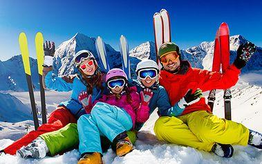 Zimní pobyt v italských Alpách - Jižní Tyrolsko