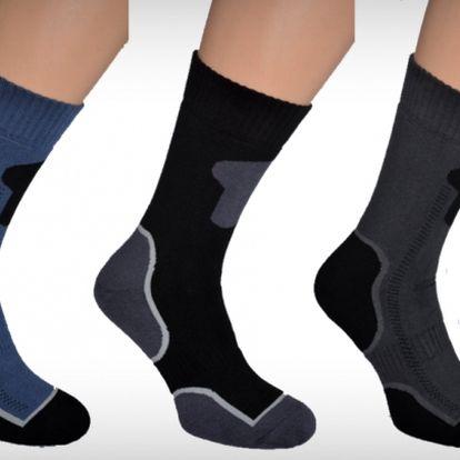 3 páry kvalitných pánskych funkčných termo ponožiek vyrobených na Slovensku so zľavou až 57% za skvelých 10,99€ s poštovným v cene
