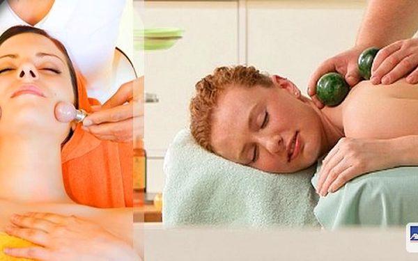 Naprostá novinka v masážích! Terapie Aurum Manus - první metoda, která dokáže pomoci pacientům s migrénou a tinnitem! Masáž teplým olejem a diamantovými koulemi na vyhřívaném lehátku!