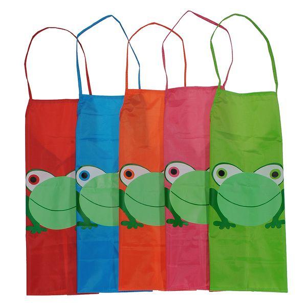 Dětské zástěrky se žabkou v pěti barvách a poštovné ZDARMA! - 30702433