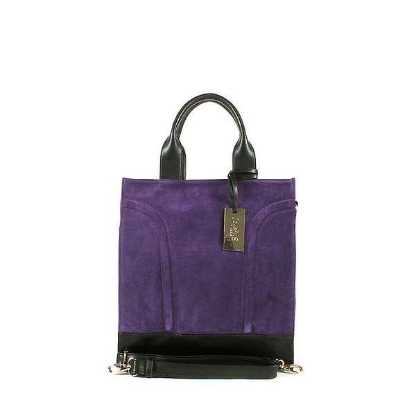 Dámská velká fialová kabelka Joysens