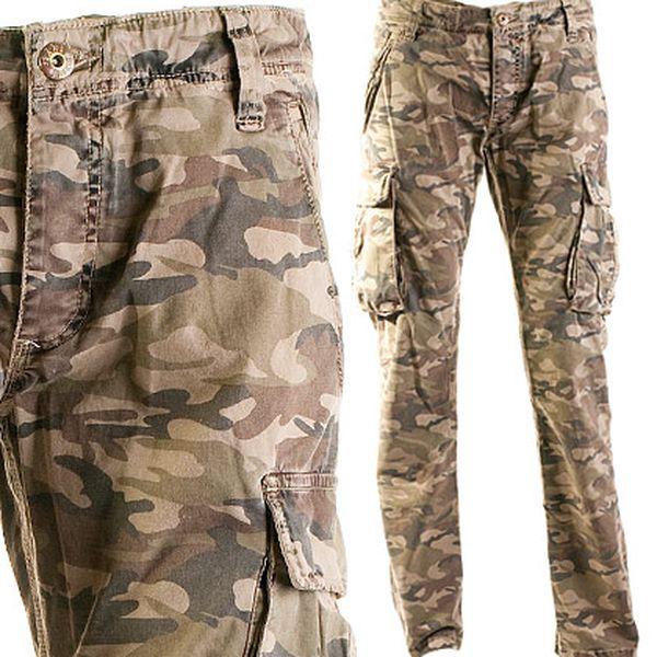 Pánské džíny Harlow camouflage 34