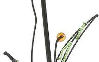 Svícen Sunchi 844-Svícen květina Indy lístky oranžová